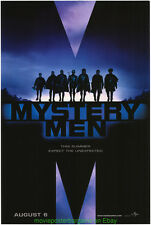 Mystery Men Movie Poster 27x40 Advance Style Ben Stiller 1999 Cult Classic!