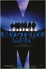 Mystery Men Movie Poster 27x40 Advance Style Ben Stiller 1999 Cult Classic!