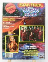 Star Trek The Wrath of Khan Official Movie Magazine 1982 Vintage