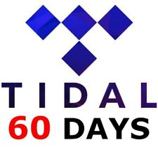 ✅ TIDAL HiFi MASTER PREMIUM 60 DAYS 2 Months ✅NEW PRIVATE ✅INSTANT DELIVERY 24/7