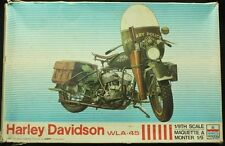 ESCI  1:9 Harley Davidson WLA-45 - Plastic Model Kit #7002