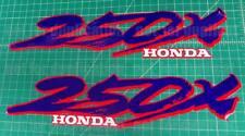 1987 TRX 250x Fourtrax honda 2pc vintage front fender decals stickers graphics