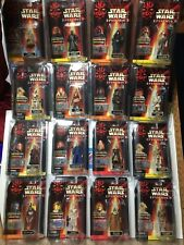 Lot Of 20 Star Wars Episode 1 NM Figures In Star Cases Darth Maul Yoda