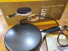 VillaWare Electric Crepe Maker Machine Model 5225 900W open box missing drippan
