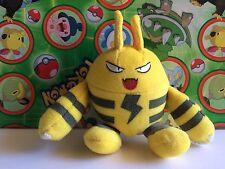 Pokemon Plush Elekid Hasbro 1998 doll figure stuffed Bean bag toy Vintage