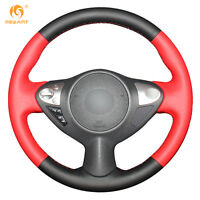 DIY Steering Wheel Cover for Infiniti FX35 FX37 Nissan Juke Maxima Sentra #0834