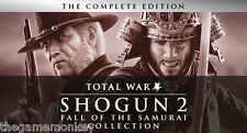 TOTAL WAR SHOGUN 2 FALL OF THE SAMURAI COLLECTION [PC] STEAM key