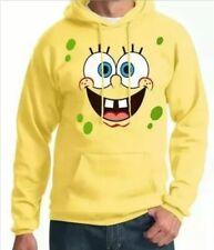 SpongeBob Face Adult Hoodie Size Large