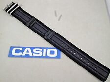 Genuine Casio G-Shock GA-100MC black grey military watch band Fabric/Canvas 28mm