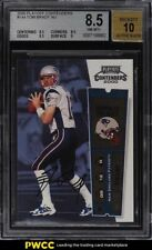 2000 Playoff Contenders Tom Brady ROOKIE RC AUTO #144 BGS 8.5 NM-MT+