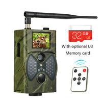 HD 1080P Video Wildlife IR Trail Hunting Camera SunTek HC-300M 12MP 2G MMS GPRS