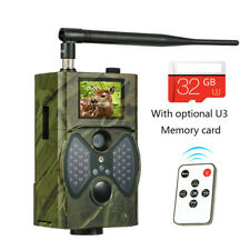 HD 1080P Video Wildlife IR Trail Hunting Camera SunTek HC-300M 12MP 2G MMS GPRS