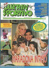 GUERIN SPORTIVO-1992 n.42- MARADONA INTIMO-AGUILERA -NO FILM