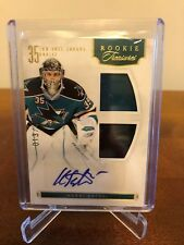 2011-12 Harri Sateri Panini Rookie Treasures Auto Jersey 13/499
