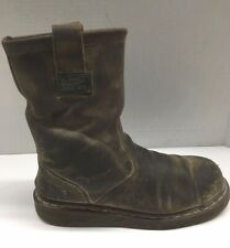Dr Martens Steel Toe Distressed Brown Boots 2295 Boots USM 10