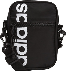 Adidas Core Festival Crossbody Unisex Shoulder Bag Black/White