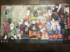 Official Naruto Bandai Playmat CCG TCGJinchuuriki Mint