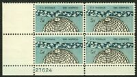 #1237 5c The Sciences, Plate Block [27624 LL], Mint **ANY 4=FREE SHIPPING**