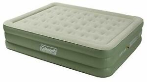 Coleman Airbed Maxi Comfort Bed Raised King Flocked Air Be Inflatable Double