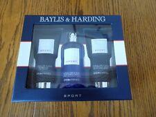BAYLIS & HARDING SPORT - Citrus Lime & Mint Shower Gel/Body Wash/After Shave SET