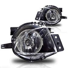 For 05-08 BMW E90 E91 325/328/335 Sedan Clear Fog Lights Driving Bumper Lamps