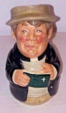 "Royal  Doulton 4.5"" Rev Cassock Toby Jug Mug D6702 1983"