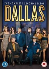 Dallas Season 2 Second TV Series 2013 Region 2 New DVD