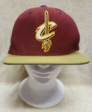 MITCHELL & NESS SNAP BACK CAP * NBA CLEVELAND CAVALIERS * GOOD USED CONDITION