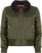 Abrigos y chaquetas de mujer de color principal verde talla 38