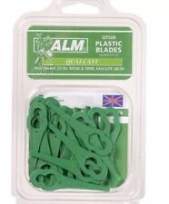 ALM 20pk QT028 Plastic Strimmer Blades  Made To Fit Bosch & Qualcast Lawnmower