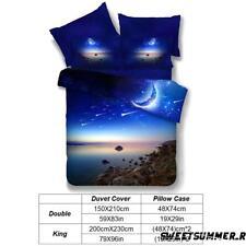 Universe 3d Bedding Sets Space Cosmos Star Sky Duvet Cover Set Pillow Case Star 015 200x230cm