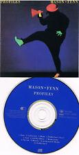 80`s CD – Nick Mason & Rick Fenn ( Pink Floyd )- Profiles ( JAPAN Disc; 11 Track