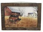 Granddad's Old Truck- Primitive Home Décor - Billy Jacobs Print