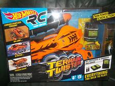 New Hot Wheels Radio Control Terrain Twister Land & Water RC Remote Orange