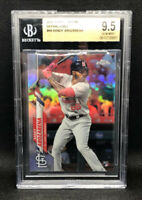 2020 Topps Chrome REFRACTOR Randy #49 Arozarena BGS 9.5 Gem Mint Rookie POP 3!
