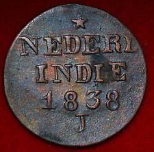Netherlands East Indies 1 Cent 1838 J  ---m111