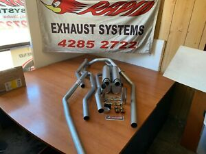 HOLDEN HQ-HJ-HZ-HX WB 1 TONNER 2 INCH DUAL SYSTEM from manifolds