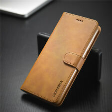 For Samsung Galaxy S21 Ultra S20 S10 S9 Plus Magnetic Leather Wallet Case Cover