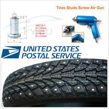 1000 Pcs Winter Wheel Tire Studs Screw Snow Spikes Stud w/Nail Air Gun Tool Kit