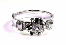 Kate Spade Space Age Floral Hinged Bracelet NWT Urban Sophisticate Chic! Iconic!