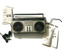 Vintage Sears Stereo LXI series am/fm with ultralight headphones- IN BOX MINT!