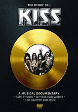The Story of... KISS: A Musical Documentary (DVD, 2016)
