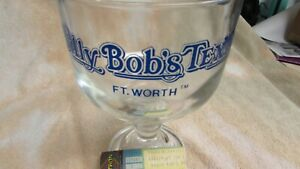 Billy Bob's Ft. Worth TEXAS Glass Beer Mug TOKENS CONCERT TICKET CHARLEY DANIELS