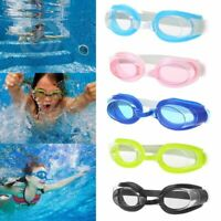 Kids Adjustable Swimming Goggles Swim Eyewear Eye Glasses Eyeglasses Sports Q