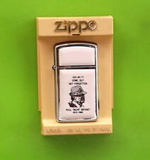 """VINTAGE PAUL """"BEAR"""" BRYANT ZIPPO LIGHTER WITH CASE   NEW"""