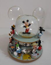03 Disney World SORCERER MICKEY STEAMBOAT WILLIE Share Dream Come True Snowglobe