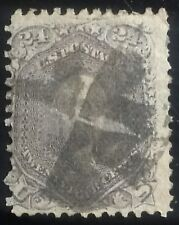 U.S. Scott # 78 used F, 24c with lilac color