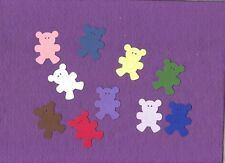 TEDDY BEAR small die cuts scrapbook cards