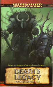 WARHAMMER : DEATH'S LEGACY pbk Sandy Mitchell NEW 1st Edition