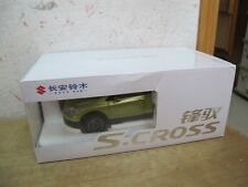 Suzuki SX4 S-Cross SUV 1/18 model car